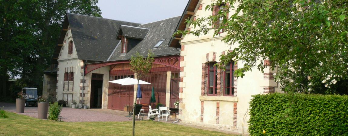 Gîte Caen - La Sellerie du Château de Tourville